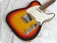 Fender Telecaster Custom 1967 Sunburst