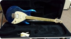 Music Man Silhouette Special Blue
