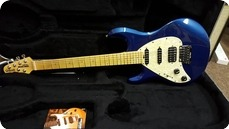 Music Man Silhouette Special LH Blue
