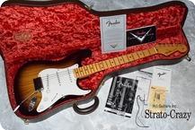 Fender Custom Shop Master Builder Stratocaster 2004 Sunburst