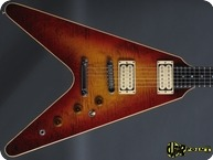 Gibson Flying V CMT The V 1982 Cherry Sunburst