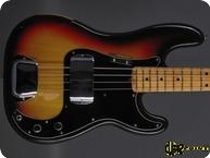 Fender Precision P Bass 1975 3 tone Sunburst