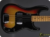Fender Precision P Bass 1975 3 tone Sunburst