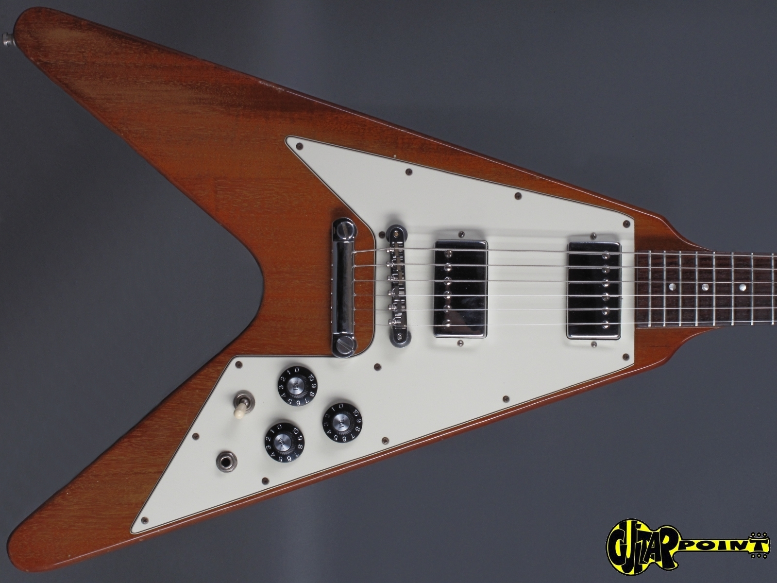 gibson flying v 1981 natural guitar for sale guitarpoint. Black Bedroom Furniture Sets. Home Design Ideas
