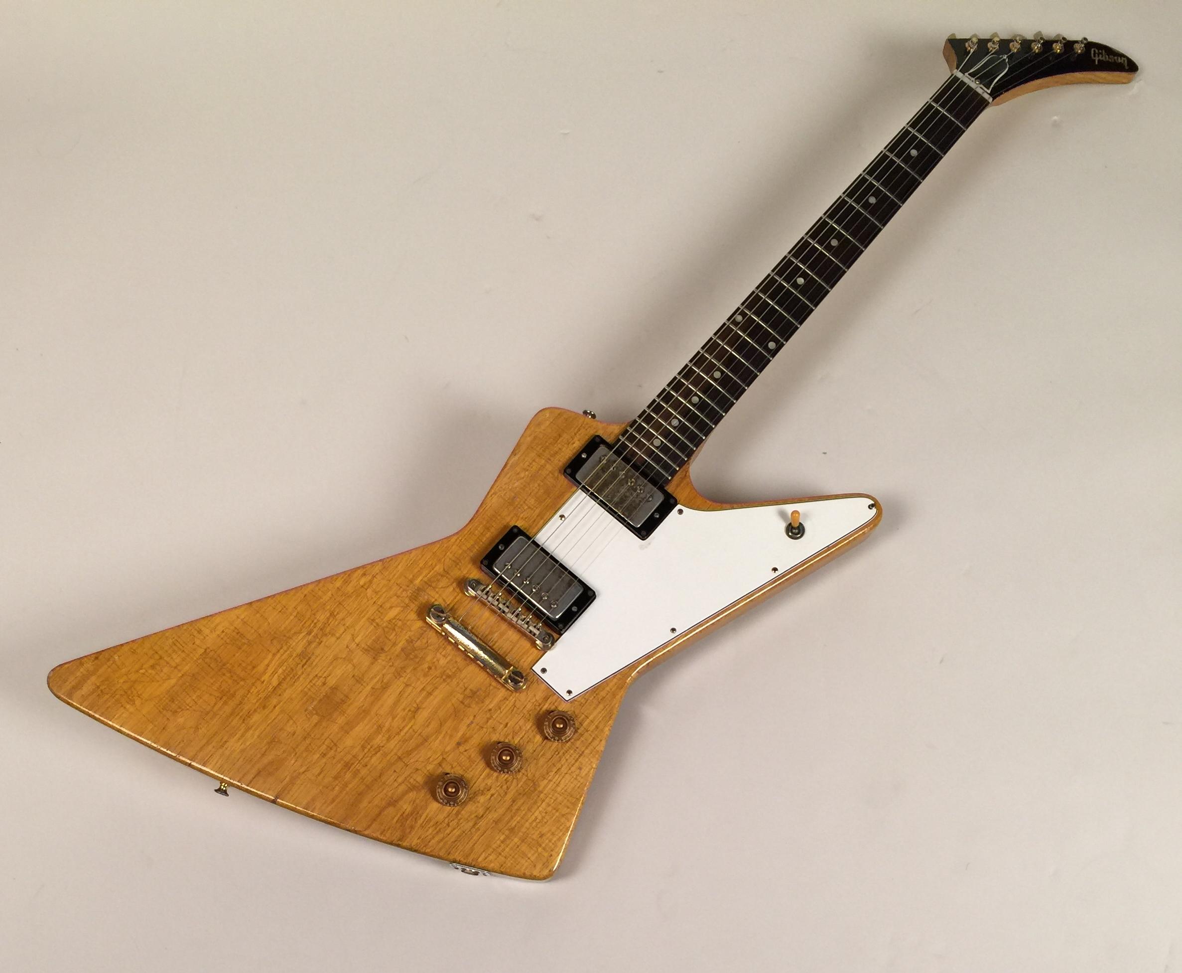 gibson explorer 1960 korina guitar for sale guitars west. Black Bedroom Furniture Sets. Home Design Ideas