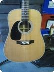 Martin D1228 Left Handed Acoustic Guitar 1998