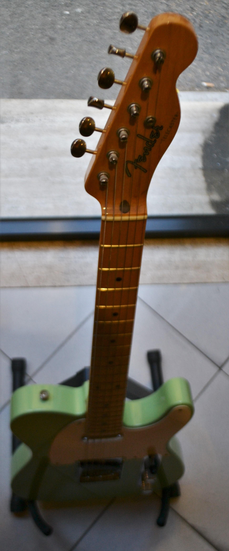 fender telecaster 52 nos custom shop 2004 surf green guitar for sale rome vintage guitars. Black Bedroom Furniture Sets. Home Design Ideas
