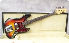 Fender Jazz 1962 Sunburst Refinish