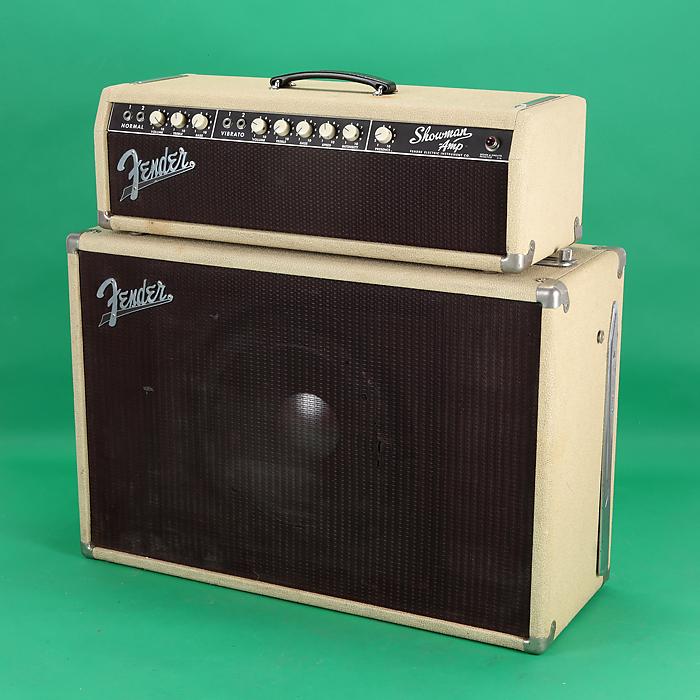 fender showman amplifier 1962 white amp for sale jay rosen music. Black Bedroom Furniture Sets. Home Design Ideas