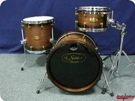 Handschuh Drum Station Maintal 20th Anniversary Shellset 2016 Tobacco Burst Satin Oil