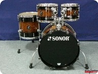 Sonor ProLite Shellset 2016 Walnut Brown Burst High Gloss