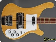 Rickenbacker 4001 1974 Mapleglo Natural
