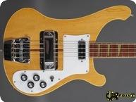 Rickenbacker 4001 1974 Mapleglo Natural