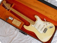 Fender Stratocaster Maple Cap Oly White 1968 Olympic White
