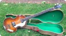 Hofner 5001 Violin Bass 1964 Sunburst