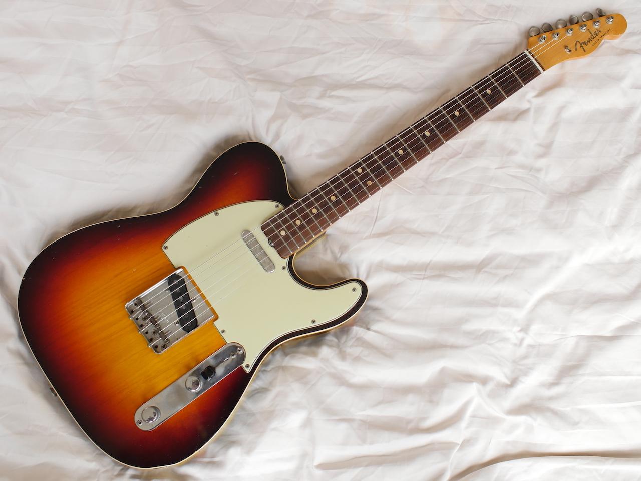 fender telecaster custom 1964 sunburst guitar for sale atoyboy guitars. Black Bedroom Furniture Sets. Home Design Ideas