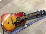 Gibson B4512 1966 Cherry Sunburst