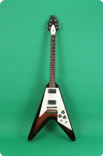 gibson flying v 1979 sunburst guitar for sale jay rosen music. Black Bedroom Furniture Sets. Home Design Ideas