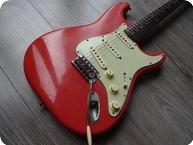 Fender Stratocaster 1963 Fiesta Red Refin