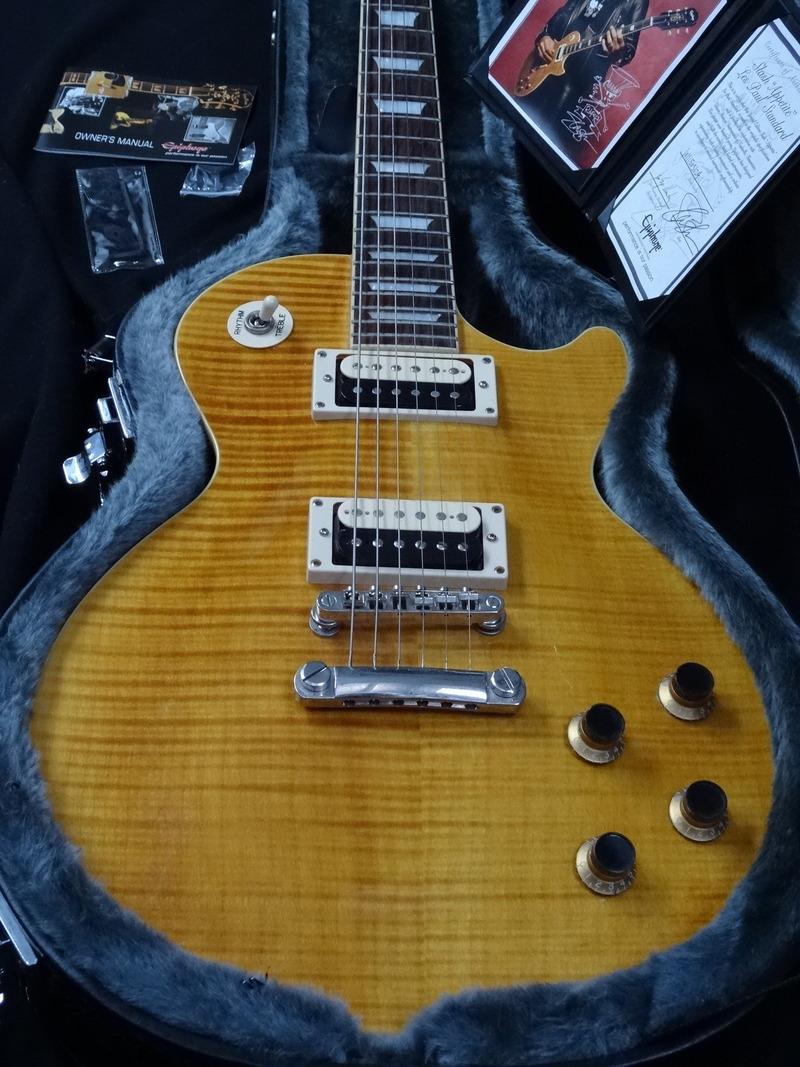 epiphone les paul standard slash afd 2000 39 s guitar for sale rjv guitars. Black Bedroom Furniture Sets. Home Design Ideas