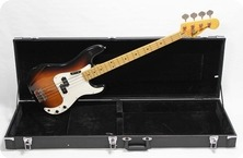 Greco Precision Bass 1981 Three Tone Sunburst