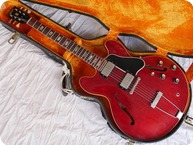 Gibson ES 335 TD Wide Nut 1965 Cherry Red