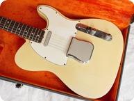 Fender Telecaster Custom Colour Colour 1966 Olympic White
