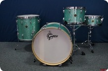 Gretsch USA 60s Round Badge Turquoise Glitter