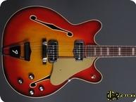 Fender Coronado II 1967 Sunburst