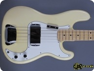 Fender Precision P Bass 1974 Olympic White