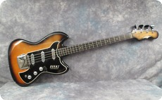 Burns Vistasonic 1964 Red Sunburst