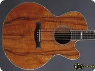 Santa Cruz KOA F model Cutaway 1989 Natural
