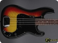 Fender Precision P Bass 1978 3 tone Sunburst