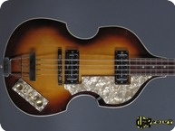 Hfner Hofner 5001 Beatles Violin Bass 1968 Sunburst