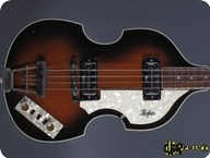 Hofner Hfner 5001 Beatles Violin Bass 1979 Sunburst