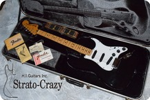 Fendr Stratocaster 1981 Cathay Ebony