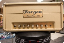 Fargen Amps Mini Plex II 2012 Cream Tolex