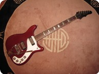 Epiphone Crestwood Custom 1965 Cherry Red