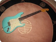 Fender Stratocaster 1963 Sea Foam Green