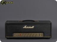 Marshall Model 1986 50 Watt Small Box 1971 Black Levant