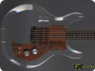 Dan Amstrong Ampeg Lutite Plexi Guitar 1970 Clear