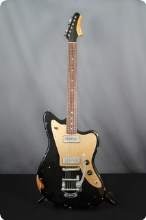 Fano Guitars Alt De Facto Jm6 2016 Old Black (black Over Gold)