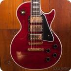 Gibson Custom Shop Les Paul Les Paul Custom 2015 Wine Red