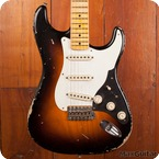 Fender Custom Shop Stratocaster 2015 Two Tone Sunburst