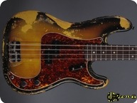Fender Precision P Bass 1968 3 tone Sunburst