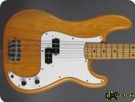 Fender Precision P Bass 1975 Natural