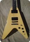 Gibson Flying V 1985 White Creme