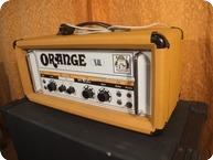Orange OR 120 PRE OWNED EL34 BRIMAR NOS 1976 Orange White