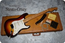 Fender Stratocaster 1958 Three Tone Sunburst