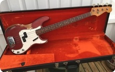 Fender Precision Bass 1966 Candy Apple Red